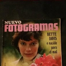 Cine: FOTOGRAMAS 1120-1970-MIA FARROW-JULIO IGLESIAS-EUROVISION-PACO RABAL-BETTE DAVIS. Lote 155754598