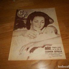 Cine: CINE EN 7 DIAS Nº 170 DEL 11-7-1964 - CARMEN SEVILLA / CLIFF RICHARD Y LOS SHADOWS - VER FOTOS. Lote 155821130
