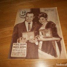 Cine: CINE EN 7 DIAS #260/1966 MANOLO ESCOBAR~DANIELA BIANCHI~GILA GOLAN~ANTHONY PERKINS~JULIE CHRISTIE. Lote 155822206