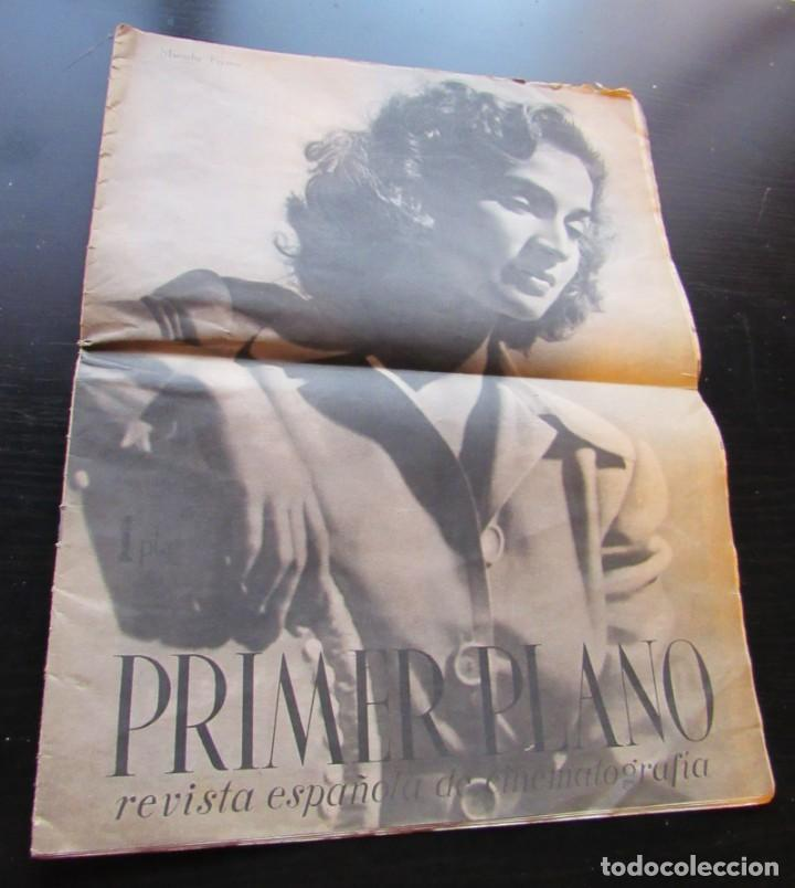 """REVISTA ESPAÑOLA CINEMATOGRAFICA """"PRIMER PLANO"""", AÑO II Nº 56, REPORTAJES VARIOS DE CINE, AÑO 1941. (Cine - Revistas - Primer plano)"""