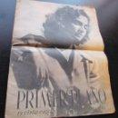 """Cine: REVISTA ESPAÑOLA CINEMATOGRAFICA """"PRIMER PLANO"""", AÑO II Nº 56, REPORTAJES VARIOS DE CINE, AÑO 1941. . Lote 155962598"""