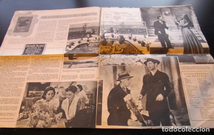 """Cine: REVISTA ESPAÑOLA CINEMATOGRAFICA """"PRIMER PLANO"""", AÑO II Nº 56, REPORTAJES VARIOS DE CINE, AÑO 1941. - Foto 2 - 155962598"""