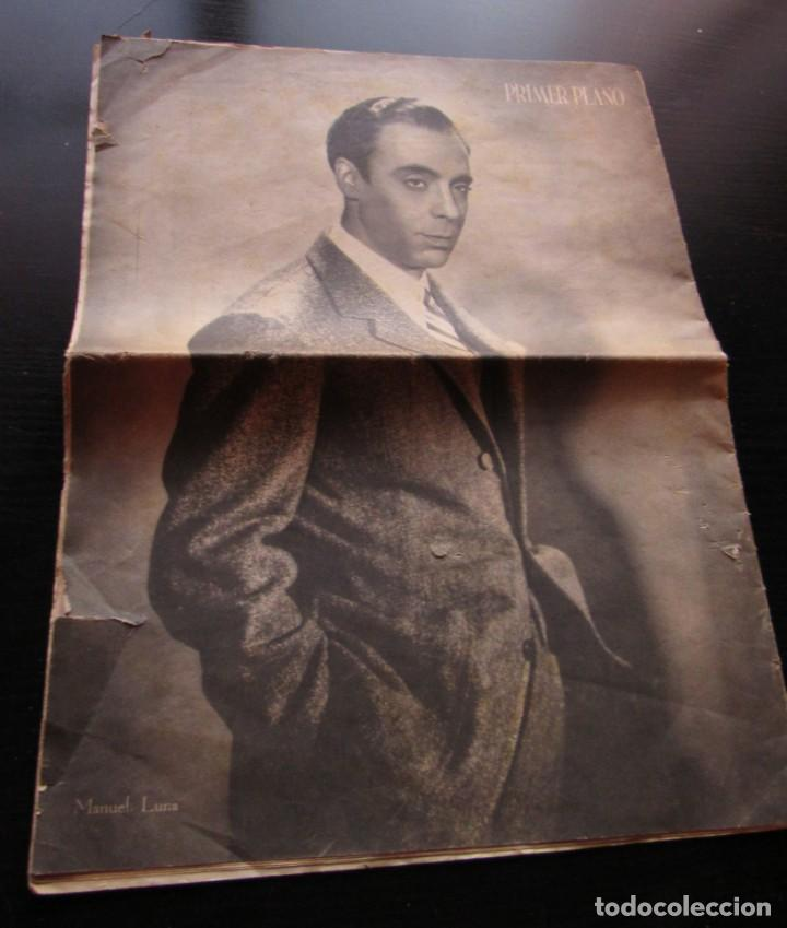 """Cine: REVISTA ESPAÑOLA CINEMATOGRAFICA """"PRIMER PLANO"""", AÑO II Nº 56, REPORTAJES VARIOS DE CINE, AÑO 1941. - Foto 3 - 155962598"""
