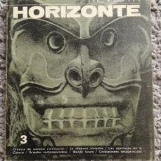 Cine: REVISTA BIMENSUAL HORIZONTE. 1969. Lote 155967789