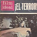 Cine: REVISTA FILM IDEAL-EL TERROR. Lote 156010398