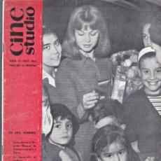 Cine: REVISTA CINE STUDIO-Nº 15 NOVIEMBRE 1963-PORTADA MARISOL. Lote 156010530
