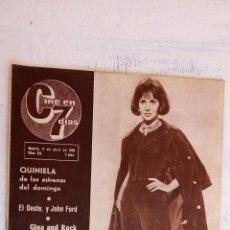 Cine: CINE EN SIETE DÍAS Nº 210 - 1965 - MARLON BRANDO, VIRGINIA MAYO, JOSELITO, ANTHONY QUENN,VIRNA LISI . Lote 156271998