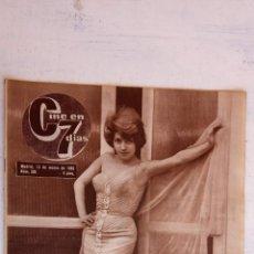 Cine: CINE EN SIETE DÍAS Nº 215 - 1965 - CONCHITA BAUTISTA, FRANCISCO RABAL, SOFÍA LOREN, ELVIS PRESLEY,. Lote 156302234