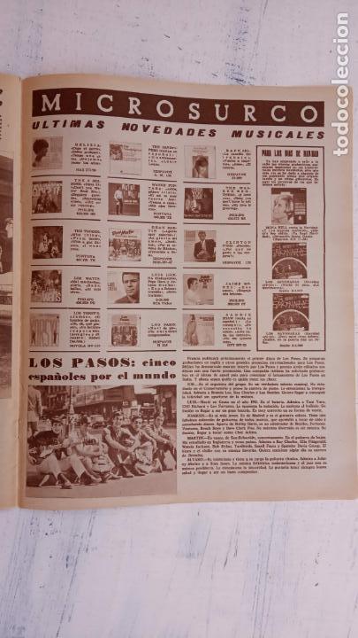 Cine: CINE EN SIETE DÍAS Nº 294 - 1966 - RAQUEL WECH, SARA MONTIEL, CARMEN SEVILLA, ARTURO FERNANDEZ - Foto 2 - 156304518