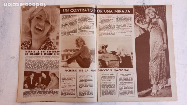 Cine: CINE EN SIETE DÍAS Nº 294 - 1966 - RAQUEL WECH, SARA MONTIEL, CARMEN SEVILLA, ARTURO FERNANDEZ - Foto 3 - 156304518
