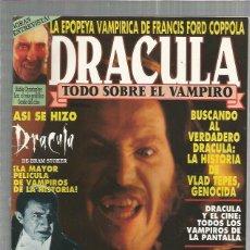 Cine: DRACULA TODO SOBRE EL VAMPIRO. Lote 156499698
