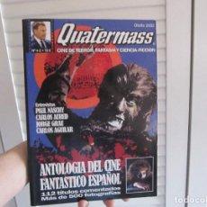 Cine: QUATERMASS Nº 4-5: ANTOLOGIA DEL CINE FANTASTICO ESPAÑOL. CINE DE TERROR, FANTASIA Y CIENCIA FICCION. Lote 156533822
