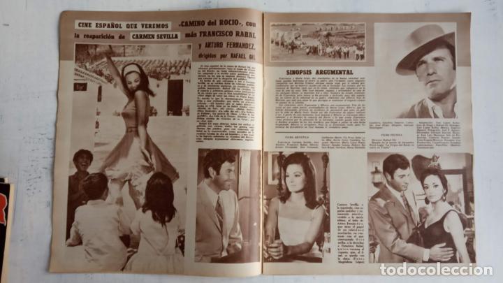 Cine: CINE EN SIETE DÍAS Nº 294 - 1966 - RAQUEL WECH, SARA MONTIEL, CARMEN SEVILLA, ARTURO FERNANDEZ - Foto 7 - 156304518
