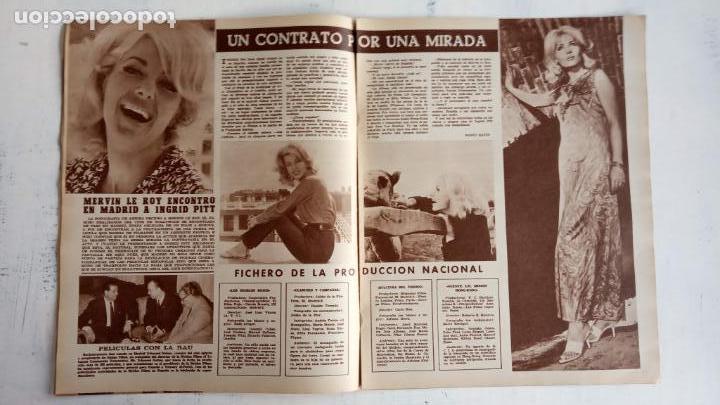 Cine: CINE EN SIETE DÍAS Nº 294 - 1966 - RAQUEL WECH, SARA MONTIEL, CARMEN SEVILLA, ARTURO FERNANDEZ - Foto 8 - 156304518
