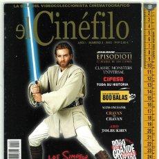 Cine: EL CINÉFILO. AÑO I. NUMERO 3. 2002.. Lote 156544658