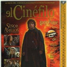 Cine: EL CINÉFILO. AÑO I. NÚMERO 4. 2002.. Lote 156544754