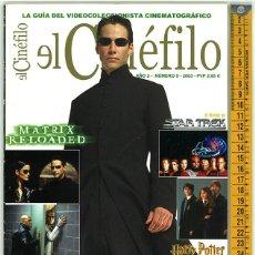 Cine: EL CINÉFILO. AÑO II. NÚMERO 9. 2003.. Lote 156545358