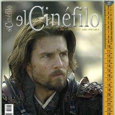 Cine: EL CINÉFILO. AÑO3. NÚMERO 17. 2004.. Lote 156545674