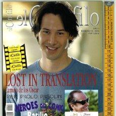 Cine: EL CINÉFILO. AÑO 3. NÚMERO 18. 2004.. Lote 156546894