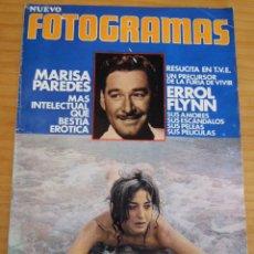 Cine: FOTOGRAMAS - NÚMERO 1248 - CONTIENE PÓSTER CENTRAL - AÑO 1972. Lote 156652378