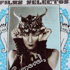 Cine: PR- 979. REVISTA FILMS SELECTOS. CARNAVAL 1931. AÑO II. NUMERO 18. 14 DE FEBRERO DE 1931. Lote 156652598