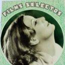 Cine: PR-978. REVISTA FILMS SELECTOS. AÑO III. NUMERO 110. 19 DE NOVIEMBRE DE 1932. Lote 156652950