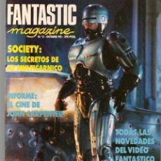 Cine: FANTASTIC MAGAZINE. Nº 2. ROBOCOP 2. MAGAZINE EDICIONES. (ST/MG.A). Lote 156707266