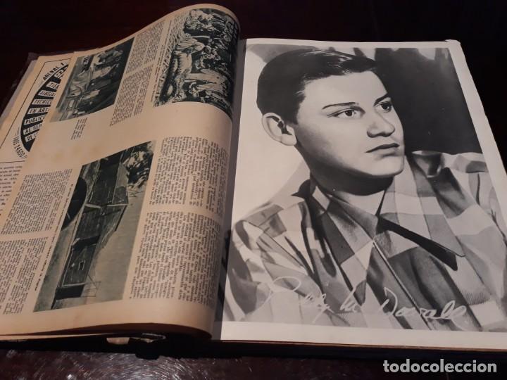 Cine: TOMO DE 19 REVISTAS DE CINE PRIMER PLANO DE LOS AÑOS 1946 Y 1947 . - Foto 4 - 156718354