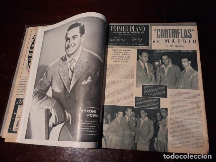 Cine: TOMO DE 19 REVISTAS DE CINE PRIMER PLANO DE LOS AÑOS 1946 Y 1947 . - Foto 6 - 156718354