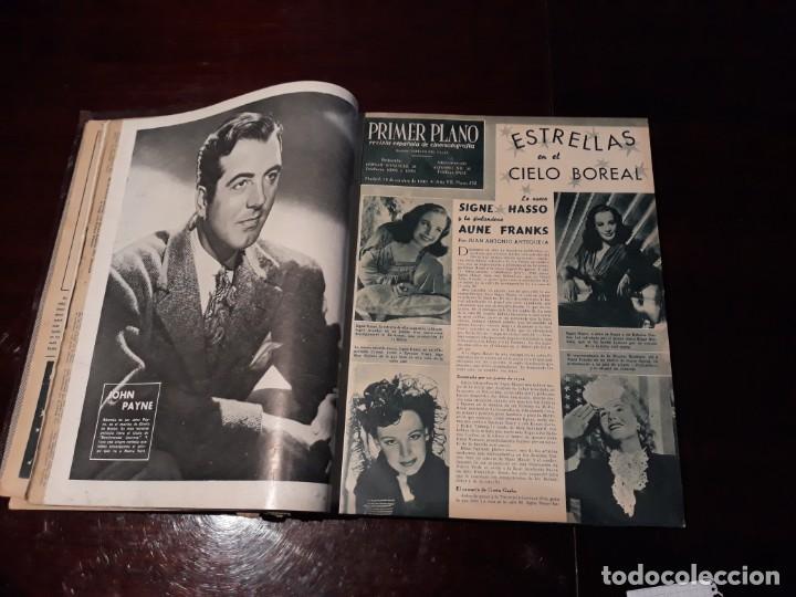 Cine: TOMO DE 19 REVISTAS DE CINE PRIMER PLANO DE LOS AÑOS 1946 Y 1947 . - Foto 8 - 156718354