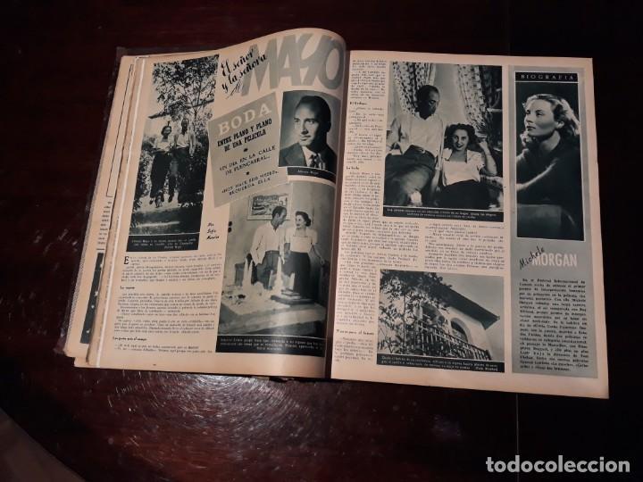 Cine: TOMO DE 19 REVISTAS DE CINE PRIMER PLANO DE LOS AÑOS 1946 Y 1947 . - Foto 9 - 156718354
