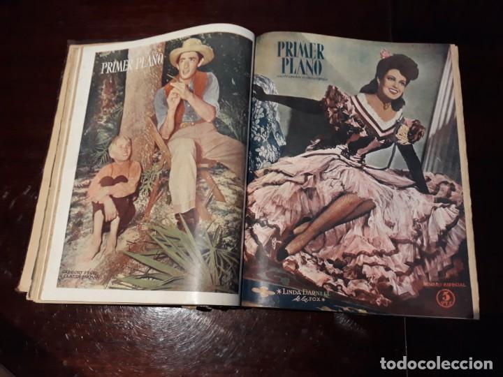 Cine: TOMO DE 19 REVISTAS DE CINE PRIMER PLANO DE LOS AÑOS 1946 Y 1947 . - Foto 12 - 156718354