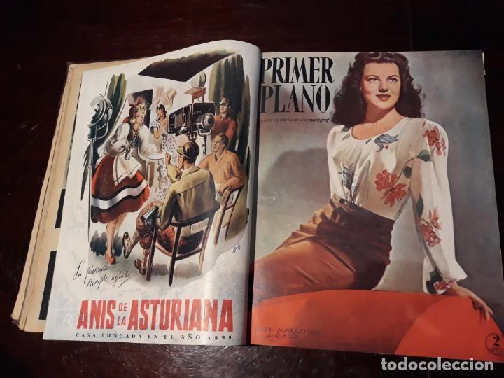 Cine: TOMO DE 19 REVISTAS DE CINE PRIMER PLANO DE LOS AÑOS 1946 Y 1947 . - Foto 15 - 156718354