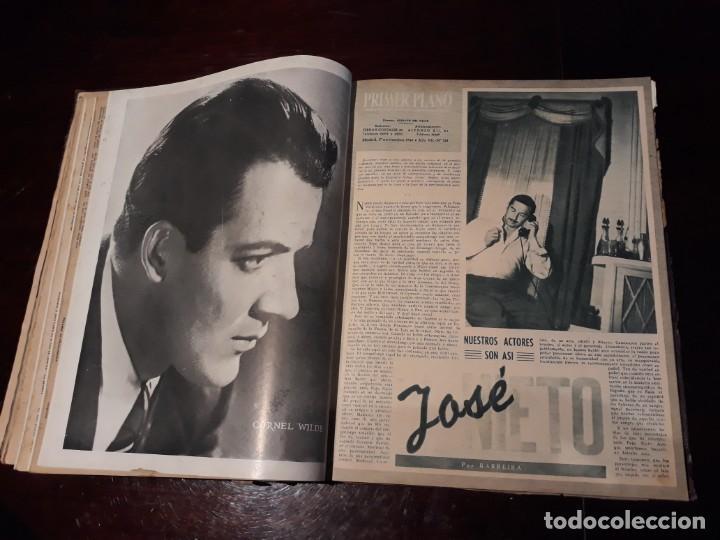 Cine: TOMO DE 19 REVISTAS DE CINE PRIMER PLANO DE LOS AÑOS 1946 Y 1947 . - Foto 20 - 156718354