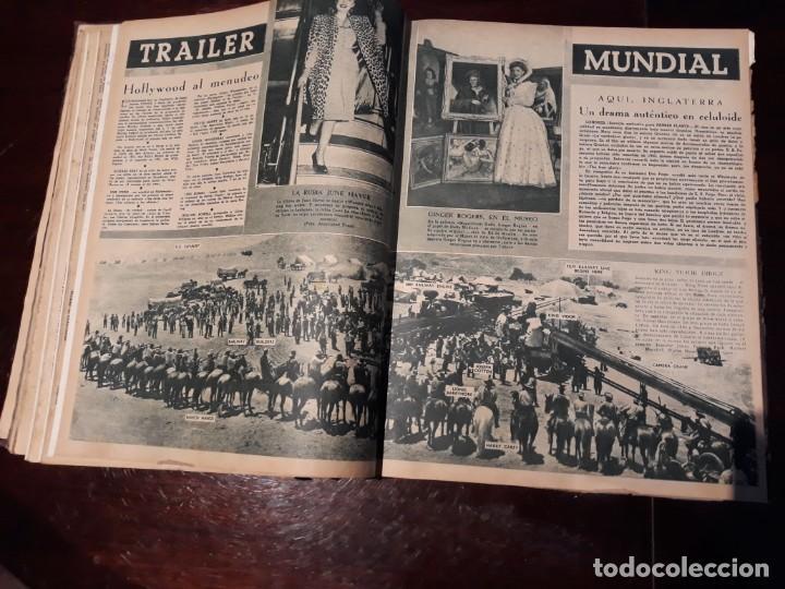 Cine: TOMO DE 19 REVISTAS DE CINE PRIMER PLANO DE LOS AÑOS 1946 Y 1947 . - Foto 21 - 156718354