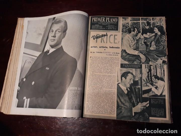 Cine: TOMO DE 19 REVISTAS DE CINE PRIMER PLANO DE LOS AÑOS 1946 Y 1947 . - Foto 23 - 156718354