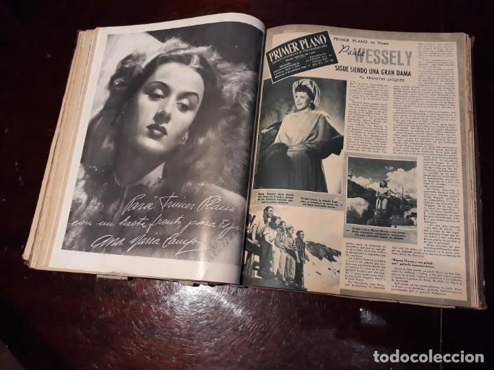 Cine: TOMO DE 19 REVISTAS DE CINE PRIMER PLANO DE LOS AÑOS 1946 Y 1947 . - Foto 29 - 156718354