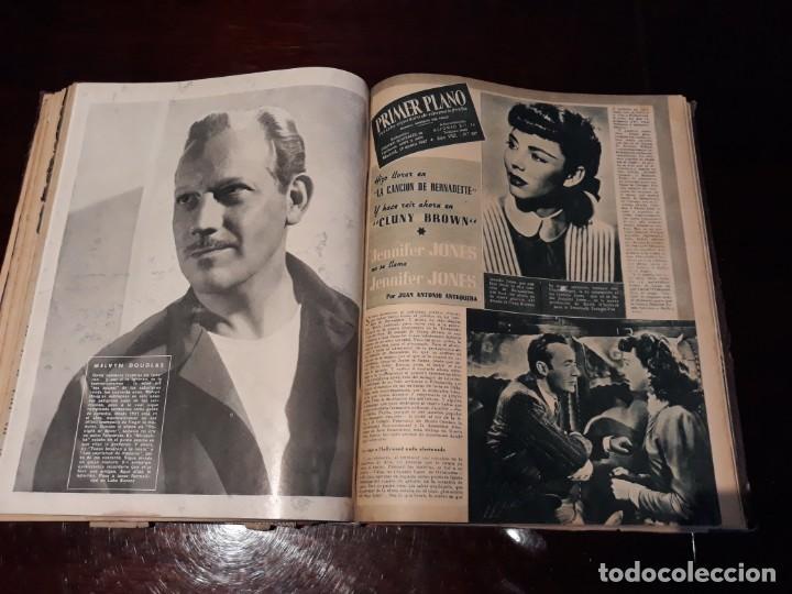 Cine: TOMO DE 19 REVISTAS DE CINE PRIMER PLANO DE LOS AÑOS 1946 Y 1947 . - Foto 35 - 156718354