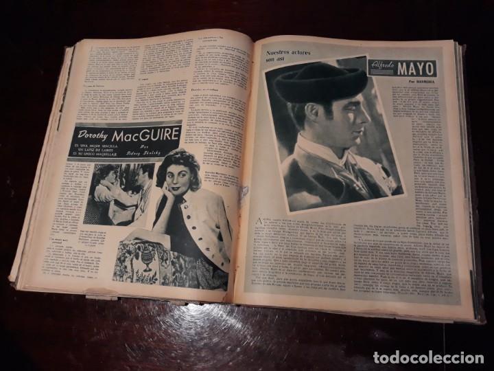 Cine: TOMO DE 19 REVISTAS DE CINE PRIMER PLANO DE LOS AÑOS 1946 Y 1947 . - Foto 37 - 156718354