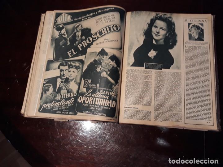 Cine: TOMO DE 19 REVISTAS DE CINE PRIMER PLANO DE LOS AÑOS 1946 Y 1947 . - Foto 44 - 156718354