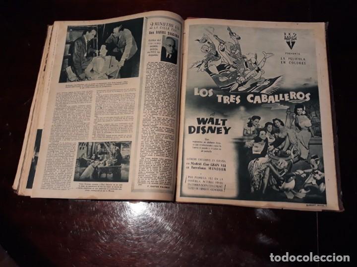 Cine: TOMO DE 19 REVISTAS DE CINE PRIMER PLANO DE LOS AÑOS 1946 Y 1947 . - Foto 50 - 156718354