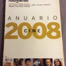 Cine: ANUARIO 2008 FOTOGRAMAS. Lote 156784882