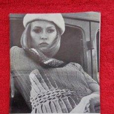 Cine: CARTELERA TURIA, VALENCIA, Nº 248 --- 1968 --- PORTADA DE LA ACTRIZ FAYE DUNAWAY. Lote 156852846