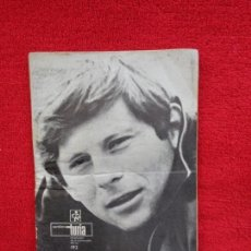 Cine: CARTELERA TURIA, VALENCIA, Nº 192 --- 1967 --- PORTADA DEL DIRECTOR ROMAN POLANSKI. Lote 156905062