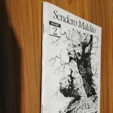 Cine: SENDERO MALDITO 2. REVISTA SOBRE CINE DE TERROR Y GÓTICO. GRAPA. AUTOEDITADO. BUEN ESTADO. RARÍSIMO. Lote 156918014
