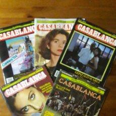 Cine: PAPELES DE CINE CASABLANCA DEL 13 AL 47 - AÑOS 1982 A 1985. Lote 156920380