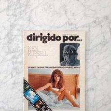 Cine: DIRIGIDO POR - 1976 - KEN RUSSELL, CARLOS SAURA, EL MUSICAL, CARL DREYER, CINE PORNOGRAFICO. Lote 157048582