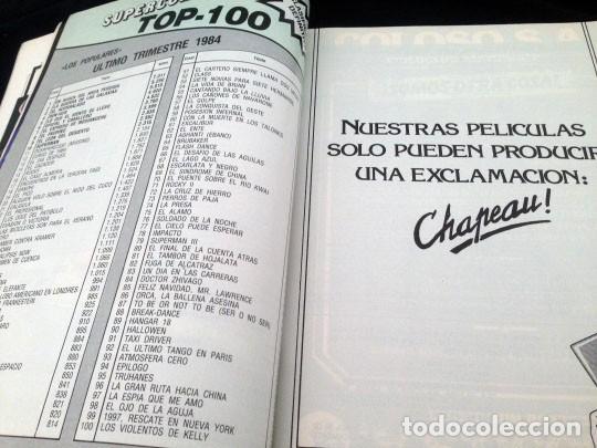 Cine: PANTALLA 3 VIDEO - Nº 26 - 1985 - LISTA OFICIAL DE PELICULAS (II) - Foto 2 - 157235362