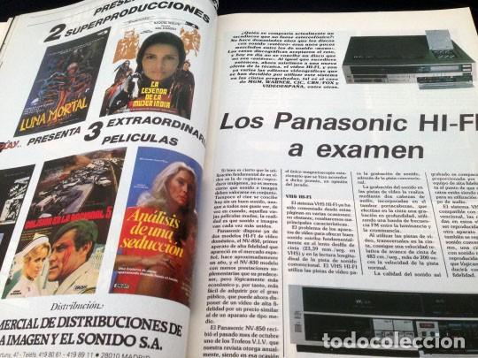 Cine: PANTALLA 3 VIDEO - Nº 26 - 1985 - LISTA OFICIAL DE PELICULAS (II) - Foto 6 - 157235362