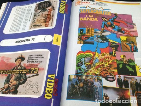 Cine: PANTALLA 3 VIDEO - Nº 26 - 1985 - LISTA OFICIAL DE PELICULAS (II) - Foto 11 - 157235362